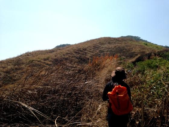 Approaching Biak na Bundok